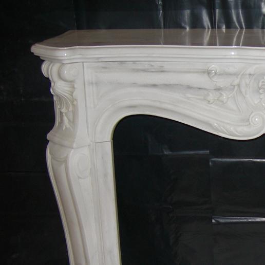 cornice caminetto Castagna Marmi